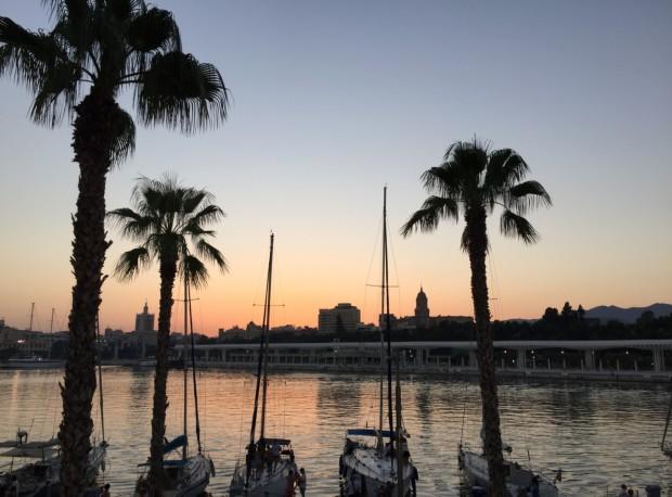 hafen_sunset